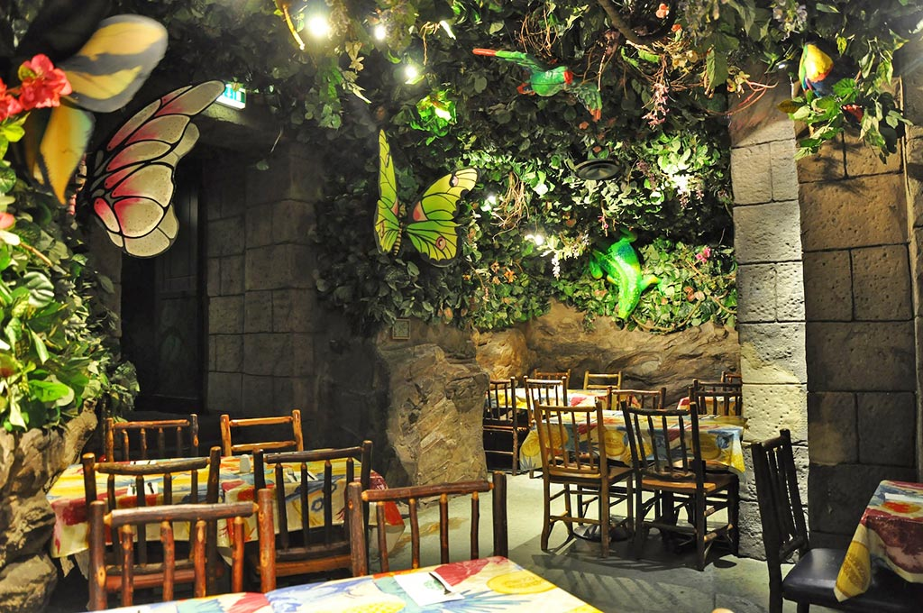 Menu For Rainforest Cafe London