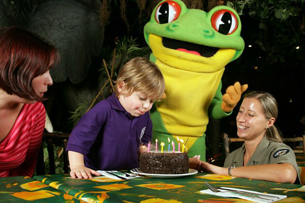 An Ideal Venue To Celebrate Birthdays And Special Occasions Alike Rainforest Cafe Offer A 3D Experience Perfect For Animal Lovers Or Those Wanting Try