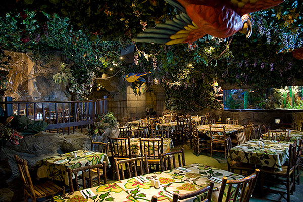 Rainforest Cafe Downtown Disneyland Coupons